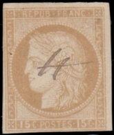 Colonies Françaises 1872. ~ YT 19 - 15 C. Cérès - Cérès