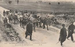 Carte Guerre 1914-1918 Territoriaux Français Du Service De Ravitaillement - Unclassified