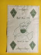 8700 - Bat Fus 215 Vaud Servir Et Tenir Suisse - Militaire
