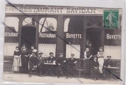 Carte Photo à Localiser ;Restaurant SAVIDAN(seule Indiquation Nord ? Soit Le Département Ou Gare ?(Paris ?) - France