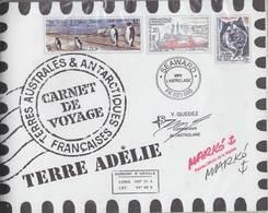 TAAF 2001 Carnet De Voyage ** Mnh (F7267) - Booklets
