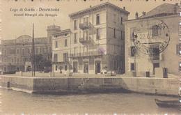Desenzano-Lago Di Garda-Grandi Alberghi Alla Spiaggia-Vg 1915 Posta Militare 30°Div.Integra E Originale100%an1-2 Scann- - Brescia