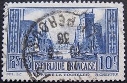 R1749/248 - 1929 - PORT DE LA ROCHELLE - N°261 Type III ☉ - France