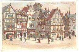 Thèmes - Evénements - Expositions - Exposition Universelle 1900 - Paris Au XII Siècle - Expositions