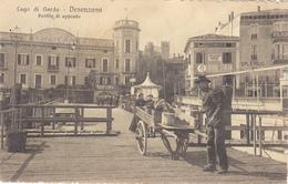Desenzano-Lago Di Garda-Pontile Di Approdo-Vg 1915.Integra E Originale100%an1-2 Scann- - Brescia