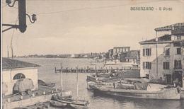 Desenzano-Lago Di Garda-Il Porto-Vg 1915.Integra E Originale100%an1-2 Scann- - Brescia