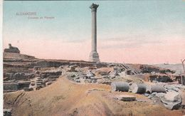 Cp , EGYPTE , ALEXANDRIE , Colonne De Pompée - Alexandria