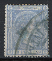 Spagna 1875 Unif.162 O/Used VF/F - 1875-1882 Regno: Alfonso XII