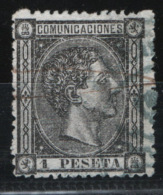 Spagna 1875 Unif.160 O/Used VF/F - 1875-1882 Regno: Alfonso XII