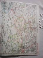 Map From Romania , Zona Craiova - Topographische Kaarten