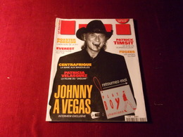JOHNNY  HALLYDAY    °  MAGAZINE LUI  NOVEMBRE 1996 - Photographs