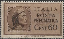 ITALY 1945 Pneumatic Post - 1932 Express - 2l50 King Victor Emmanuel III MNG - 5. 1944-46 Lieutenance & Umberto II