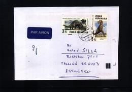 Czech Republic 1998 Dinosaurs Interesting Letter - Prehistorics