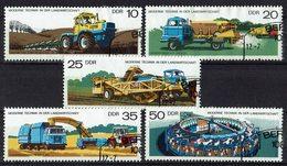 DDR 1977 // Mi. 2236/2240 O (M.026..114) - Landwirtschaft