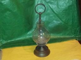 BELLE DÉCORATION BOUGEOIR LAMPE A BOUGIE SUPPORT MÉTALLIQUE  Voir Photos - Luminaires