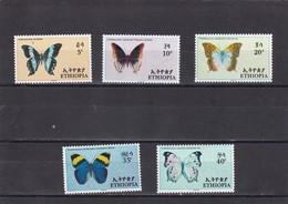 Etiopia Nº 482 Al 486 - Etiopía