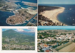 50 Vues Aeriennes De France---cpm Couleur - Postkaarten