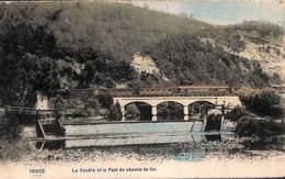 Trooz - La Vesdre Et Le Pont Du Chemin De Ger (animée, Train, Colorisée, AHH 1907) - Trooz