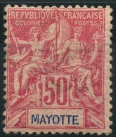 Mayotte (1892) N 11 * (charniere) - Unused Stamps