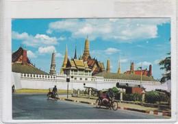 BANGKOK, THAILAND, SCENE OF WAT PHAR KEO AT THE ROYAL PALACE GROUNDS. CIRCA 1970s.- BLEUP - Thailand