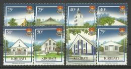 KIRIBATI  2008  CHURCHES  SET MNH - Kiribati (1979-...)