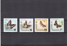 Etiopia Nº 1085 Al 1088 - Etiopía
