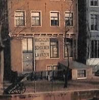 Amsterdam - Heerengracht B.d. Beulingstraat (gekleurd, Schoenen Laarzen, Uitg. B. Brouwer) - Amsterdam