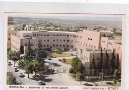 JERUSALEM. BUILDINGS OF THE JEWISH AGENCY. PHALPHOT. CIRCA 1970's.- BLEUP - Israël