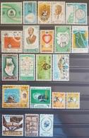 E11e24 - Egypt 1978 Lot Of 21 Commerative Stamps MNH - Cv 25$ - Egypt