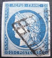 R1730/51 - CERES N°4 - GRILLE NOIRE - Cote : 65,00 € - 1849-1850 Cérès