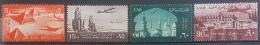 E11e24 - Egypt UAR 1959 SG 620-623 Cplte Set 4v. - MLH - AIR MAIL, Airplane, Pyramid - Egypt