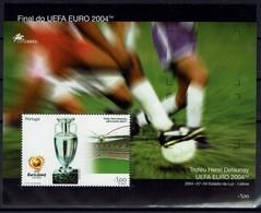 Portugal 2004 - Fußball Football - Fußball-Europameisterschaft - MiNr Block 199 (2834) - Fußball-Europameisterschaft (UEFA)