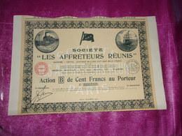 LES AFFRETEURS REUNIS  (1921) - Shareholdings