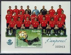 Spanien Espana 2001 - Fußball Football - Fußball-Europameisterschaft - MiNr Block 172 (4342) - Fußball-Europameisterschaft (UEFA)