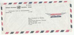 UN In MALI Via DIPLOMATIC BAG 'Pouch' MAMAKO UNDP To UN NY USA United Nations Cover - Mali (1959-...)