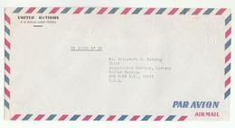 UN In TOGO Via DIPLOMATIC BAG 'Pouch' LOMO To UN NY USA United Nations Cover - Togo (1960-...)