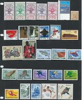 World - Countries E To P - 58 X MNH -  Incl 11 X Sets & 2 X Singles As Issued Cat £78 SG2015 -see Full Description Below - Timbres