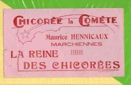 BUVARD & Blotting Paper : Chicorée La Comete MARCHIENNES - Coffee & Tea