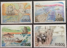 CABO CAPE VERDE 2006  WHALE WHALES CYCLE BALEINE BALEINES FISH FISHES POISSONS RARE MNH - Baleines