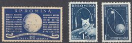 ROMANIA - 1959 - Serie Completa Nuova MNH: Yvert  Posta Aerea 104/106; 3 Valori. - Poste Aérienne