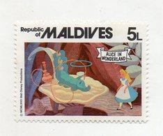Maldive - 1980 - Francobollo Tematica Disney - Alice Nel Paese Delle Meraviglie - Nuovo - (FDC10956) - Maldive (1965-...)