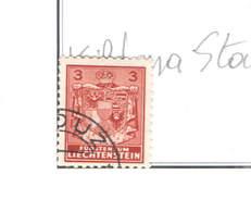 Liechtenstein PO 1934/35 Arms E Scene   Scott.116+ See Scan On Scott.Page - Liechtenstein