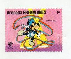 Grenada - 1988 - Francobollo Tematica Disney - Rhithmics - Nuovo - (FDC10958) - Grenada (1974-...)