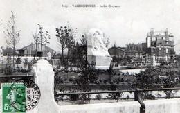 Valenciennes (59) - Jardin Carpeaux 1913 - Valenciennes