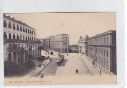 ALGER. PACE BAB EL OUED. LL, LEVY FILS ET CIE. VOYAGEE. CIRCA 1900's.- BLEUP - El-Oued