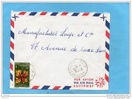 MARCOPHILIE-lettre  NLLE CALEDONIE Pour Françe-cad-THIO  1986 - Stamps  N°321 Fleur-deplanchea-pour Françe - Briefe U. Dokumente