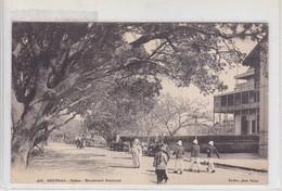SENEGAL. DAKAR. BOULEVARD NATIONAL. FORTIER PHOT. CIRCA 1900's.- BLEUP - El-Oued