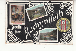 Pays-de-galle - Machynlleth - Greetings - Llyfnant Valley - Dovey - Montgomeryshire