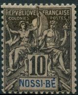 Nossi-Be (1894) N 31 *  (charniere) - Nossi-Bé (1889-1901)