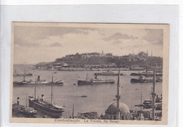 CONSTANTINOPLE. LA POINTE DU SERAY. ED ISAAC M AHITOUV. CIRCA 1930's.- BLEUP - Turkije